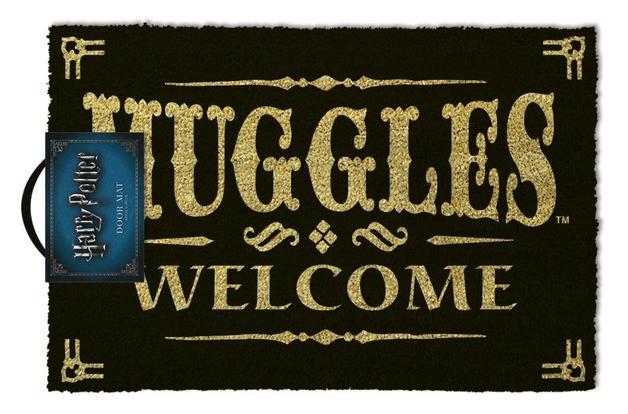 Harry Potter: 'Muggles Welcome' Door Mat