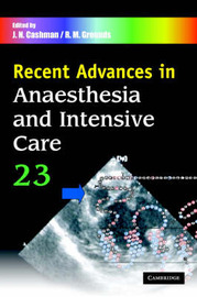 Recent Advances Recent Advances in Anaesthesia and Intensive Care: Volume 23