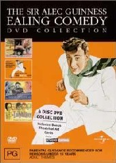 Sir Alec Guinness Ealing Comedy Collection on DVD