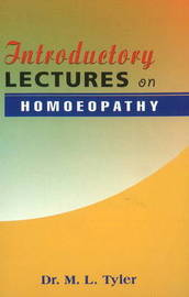 Introductory Lectures on Homoeopathy image