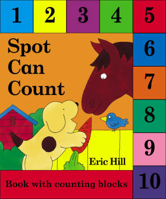 Spot Can Count with Blocks by Eric Hill