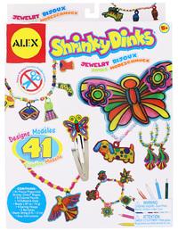 Alex: Shrinky Dinks Jewellery