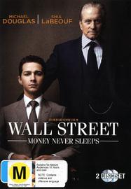 Wall Street: Money Never Sleeps on DVD