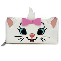 Loungefly: Disney Marie Tuft - Zip Around Wallet