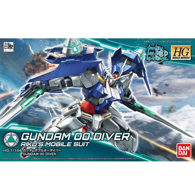 HGBD 1/144 Gundam 00 Diver - Model Kit