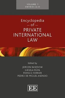 Encyclopedia of Private International Law image