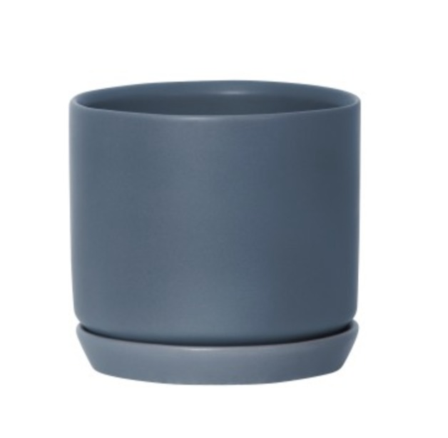 General Eclectic: Medium Oslo Planter - Muted Navy