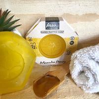 Ahhh Soaps Hex Soap - Manuka Honey (120g)