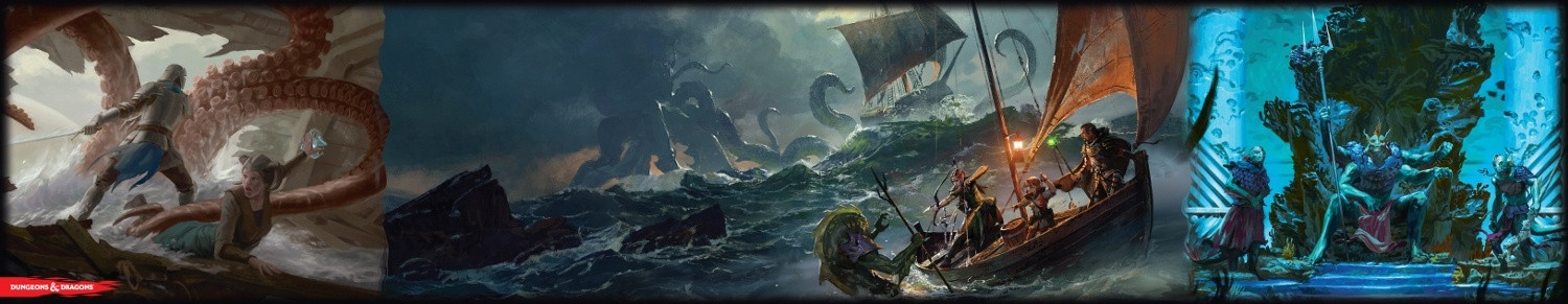D&D Of Ships and The Sea DM Screen image