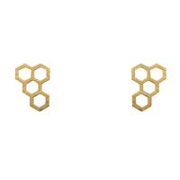 Short Story: Earring Honeycomb Gold