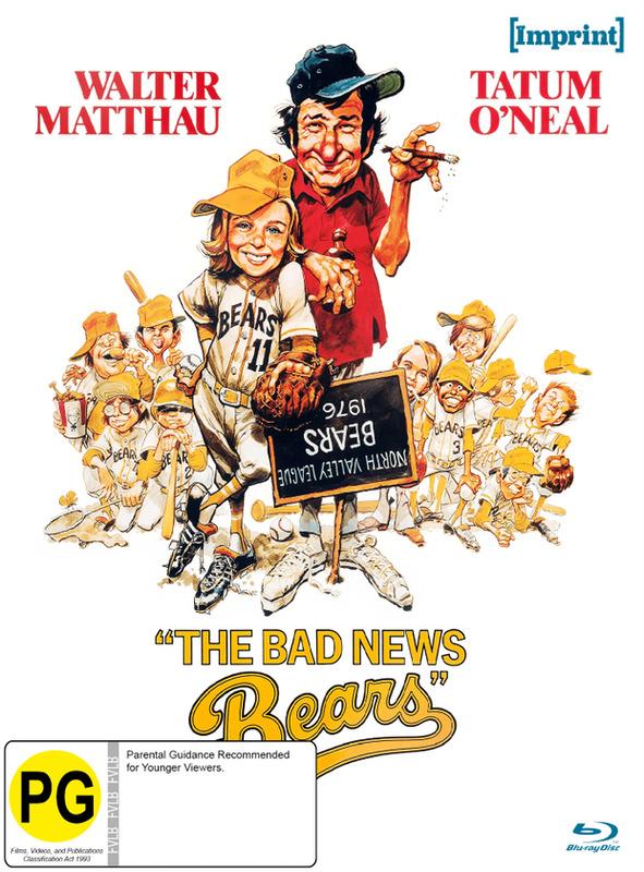 The Bad News Bears (Imprint Collection #31) on Blu-ray
