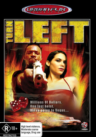 Turn Left (Urban Flix Collection) on DVD image