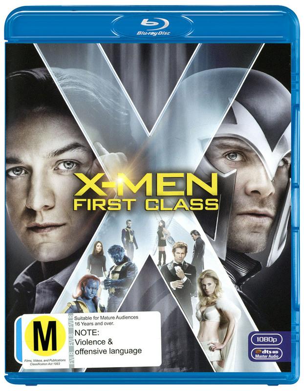 X-Men: First Class on Blu-ray