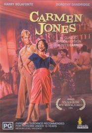 Carmen Jones on DVD image