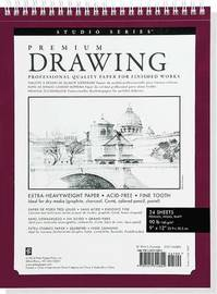 "Premium Drawing Pad (9"" x 12"")"