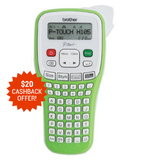 Brother PTH105 P-Touch Durable Label Maker - Green