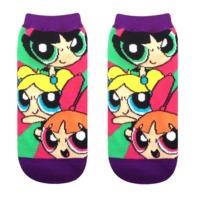 The Powerpuff Girls: Fighting Girls - Ladies Socks