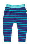 Bonds Stretchy Leggings - Teal Life Stripe (12-18 Months)