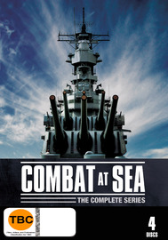 Combat at Sea - The Complete Series (4 Disc Set) on DVD