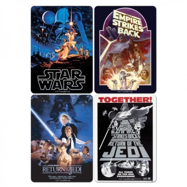 Star Wars: Coasters - Film Posters
