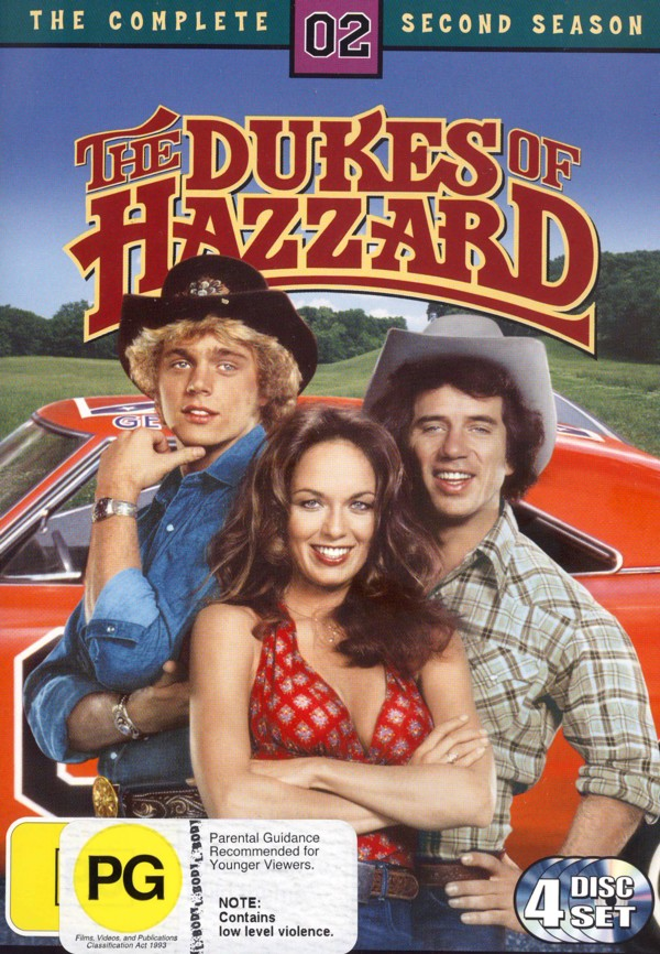 Dukes of Hazzard, The - Complete Season 2 on DVD image