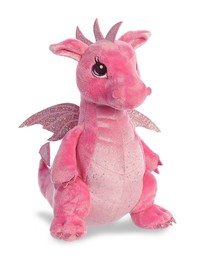 "Aurora: Dahlia Pink Dragon - 12"" Plush"