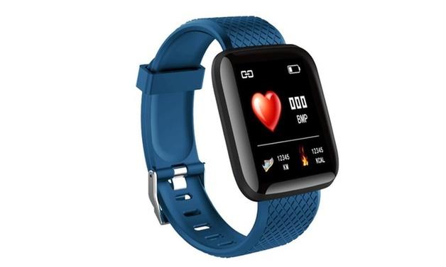 Smart Sports Activity Tracker - Blue