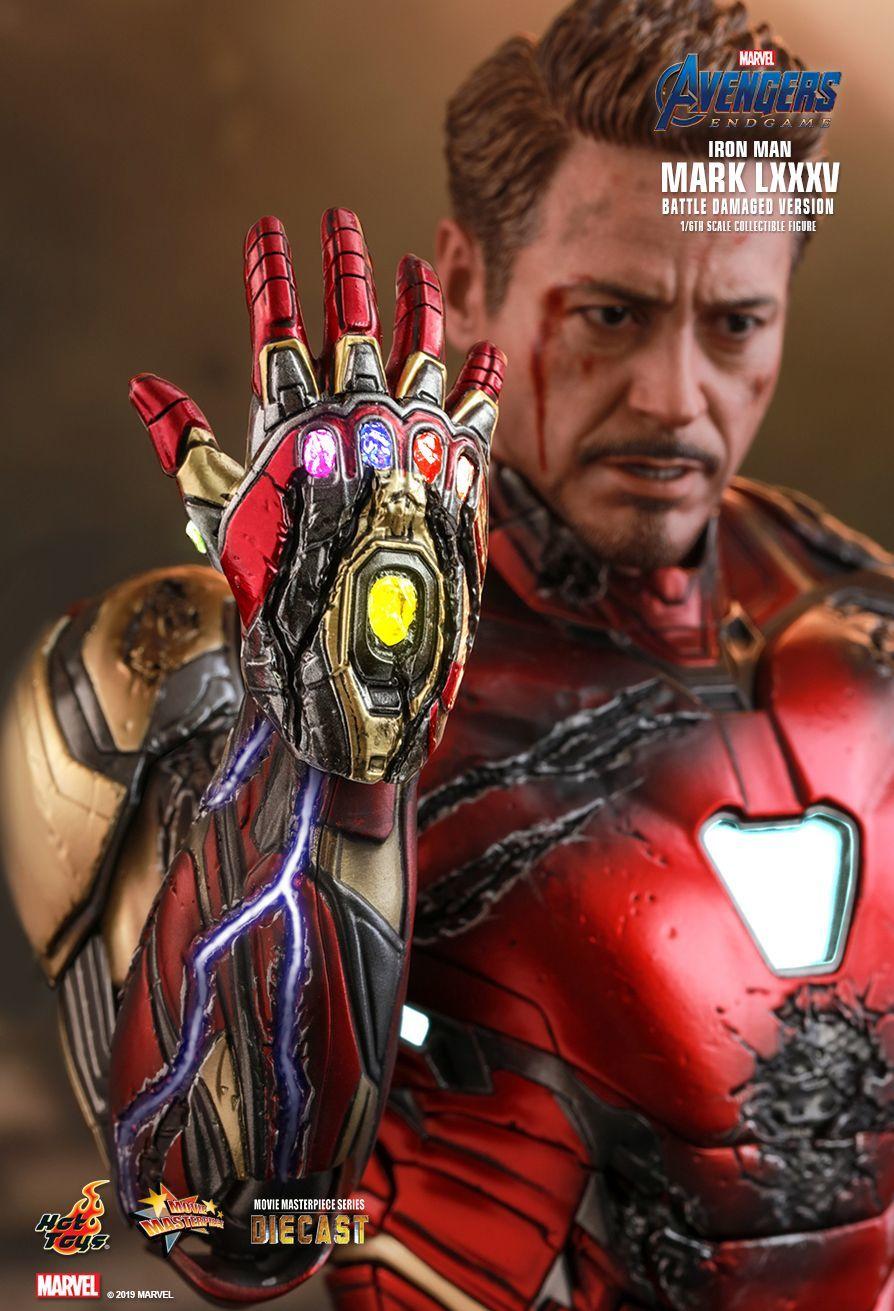 "Avengers: Endgame - Iron Man Mk. LXXXV (Battle Damaged Ver.) - 12"" Articulated Figure image"