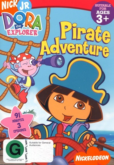 Dora The Explorer - Pirate Adventure on DVD
