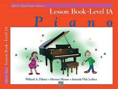 Alfred's Basic Piano Library Lesson Book by Willard Palmer image