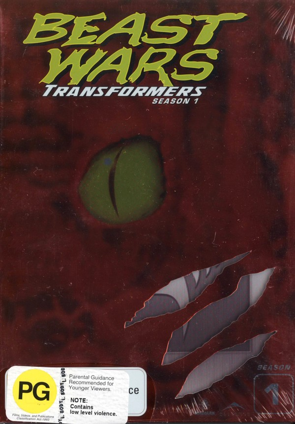 Beast Wars - Transformers: Season 1 (4 Disc Box Set) on DVD image