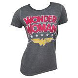DC Comics: Wonder Woman Logo - Hi-Lo T-Shirt (Large)