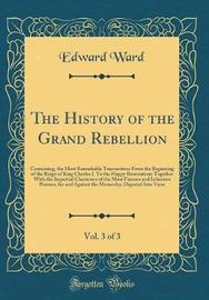 The History of the Grand Rebellion, Vol. 3 of 3 by Edward Ward image