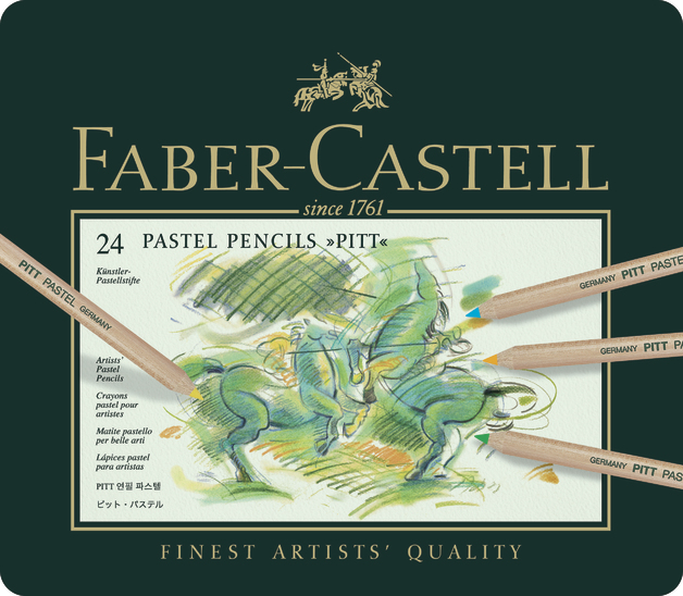 Faber-Castell: Pitt Pastel Pencil (Tin of 24)