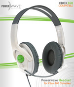 Powerwave Xbox 360 Headset for Xbox 360
