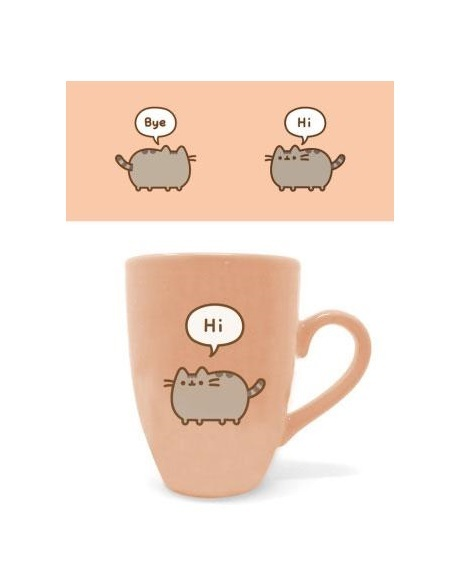 Pusheen Latte Mug Pusheen Says Hi