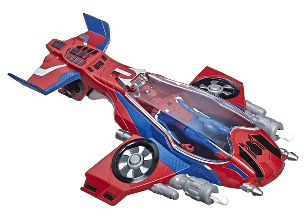 Spider-Man: Spider-Jet - Vehicle Playset