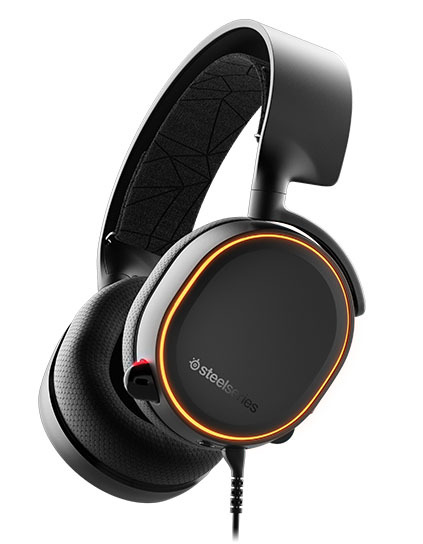 SteelSeries Arctis 5 Wired Gaming Headset (Black, 2019 Edition) for PC
