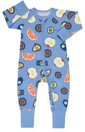 Bonds: Zip Wondersuit - Blue Fruit Sticker (Size 2)