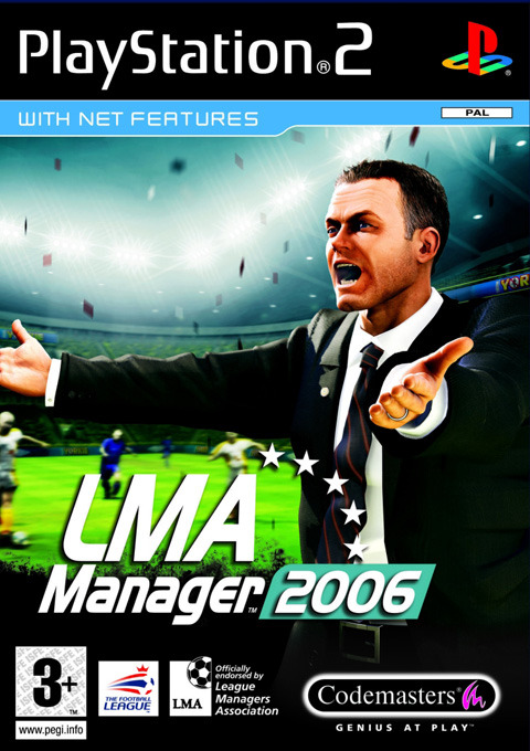 LMA Manager 2006 for PlayStation 2
