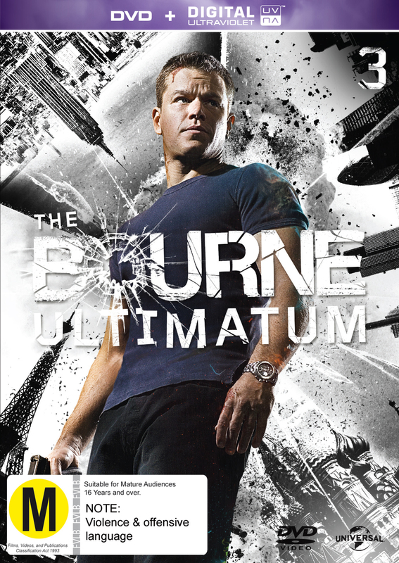 The Bourne Ultimatum on DVD
