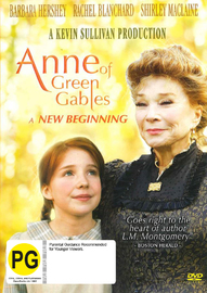Anne of Green Gables: A New Beginning on DVD