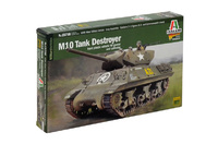 Italeri 1:56 M10 Tank Destroyer Model Kit