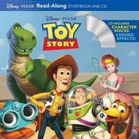 Toy Story Read-Along Storybook and CD by Ronald Kidd