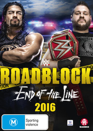 WWE: Roadblock 2016 - End Of The Line on DVD