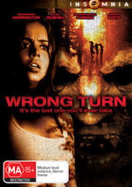 Wrong Turn on DVD image