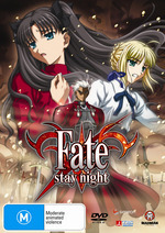 Fate/Stay Night - Vol. 4: The Hero of Heroes on DVD