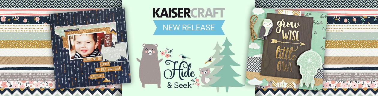 New Kaisercraft Collection - Hide & Seek!