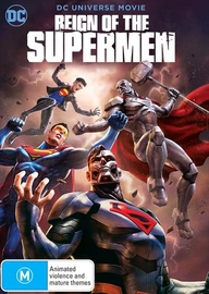 Reign of the Supermen on DVD