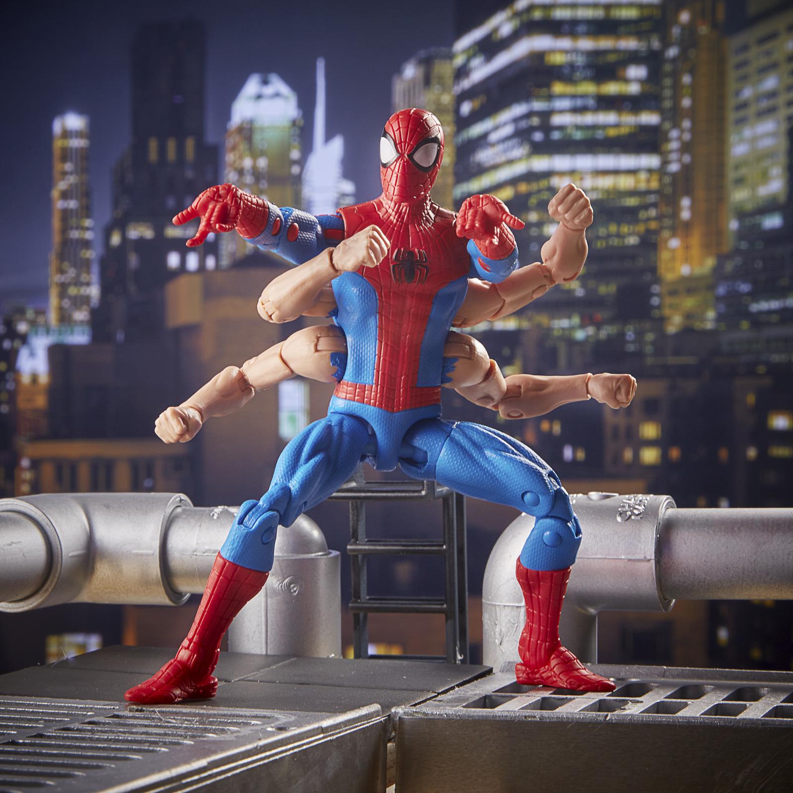 "Marvel Legends: Spider-Man (Six-Arms Ver.) - 6"" Action Figure image"